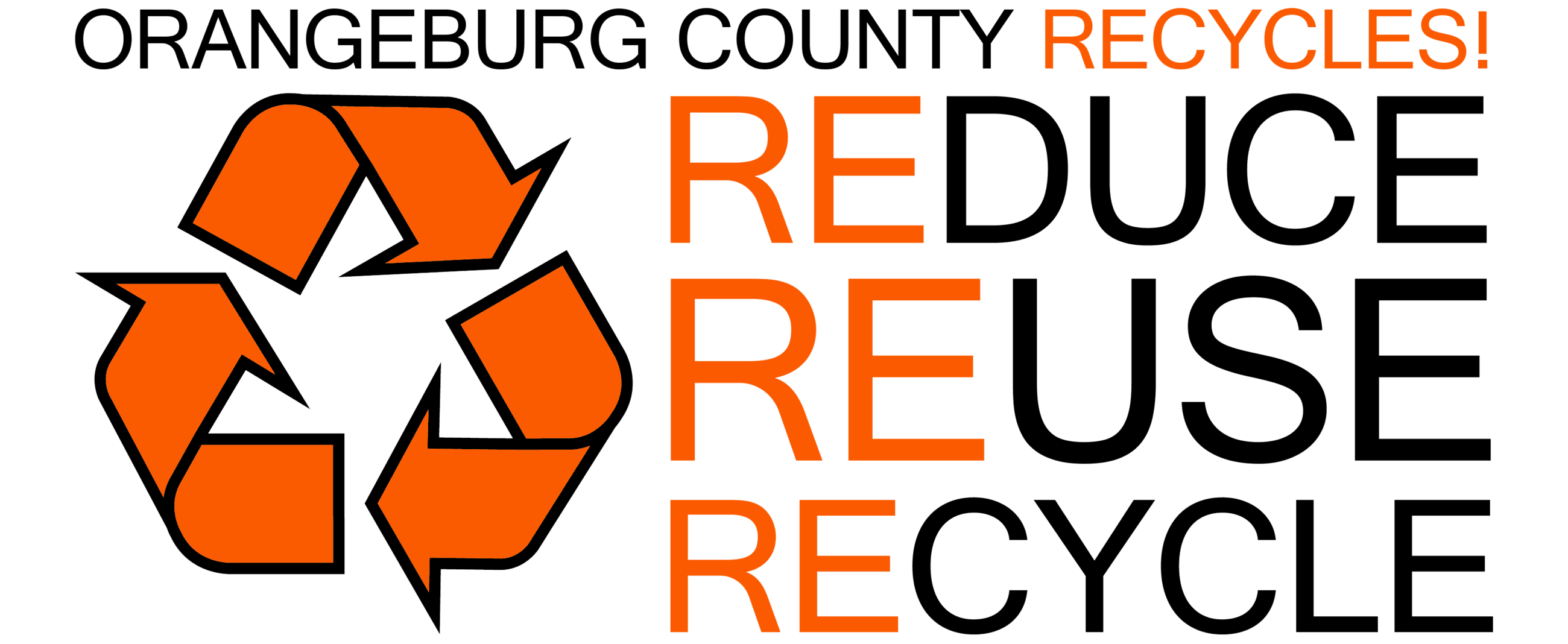 Orangeburg County Recycles - Reduce, Reuse, Recycle